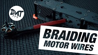 Braid / wire mesh for fpv motor wires