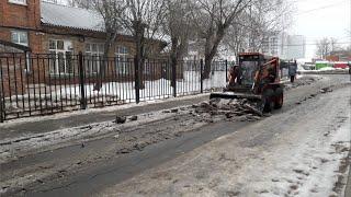 ТВЭл - Как в Электрогорске  работают  коммунальные и дорожные службы. (20.02.19)