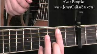 How To Play Mark Knopfler Romeo and Juliet (intro only)