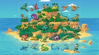 Магниты Растишка Остров Динозавров