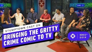 Stumptown Cast on Bringing the Gritty Crime Comic to TV - Comic Con 2019