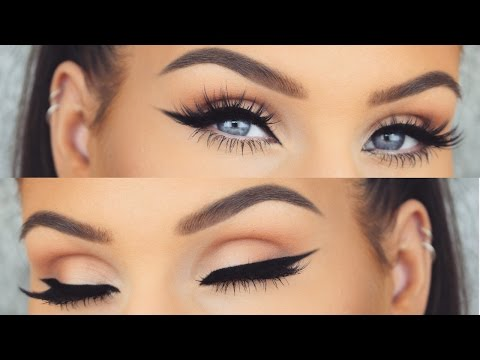 How To: Perfect Winged Eyeliner Every Time | Cat Eye Tutorial