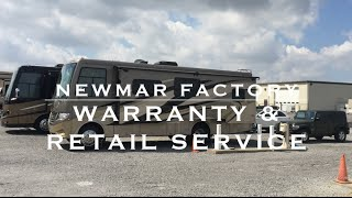 Newmar RV Warranty + RV Service at Newmar Factory Indiana