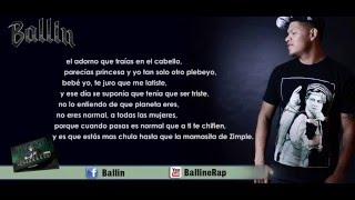 12 . - Te Vi Pasar - (Lyric vídeo) Ballin ft. Jah Fabio (Nuevo)