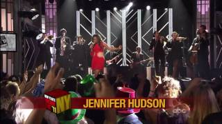 "Jennifer Hudson Sings ""Feeling Good"" on New Years 2011"