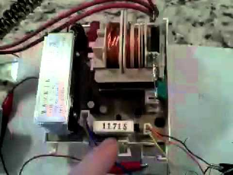 Microwave oven inverter hacking - the new MOT