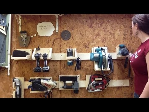 Hang Anything On Your Wall With A French Cleat Storage System