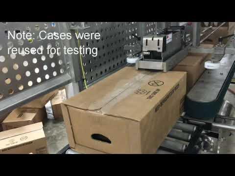 Selladora de cajas con Grado Sanitario TBS-100FC XL RTE para cajas pesadas tipo Bliss