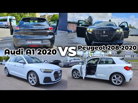 Audi A1 vs Peugeot 208 2020   Which one do you prefer ?