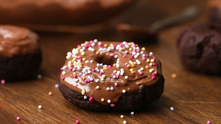 Easy Homemade Chocolate Doughnuts (Gluten-Free)