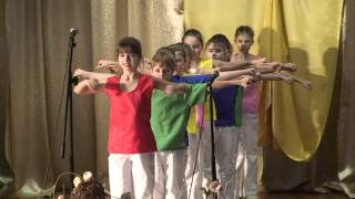 """Посвящение в гимназисты 5 """"Б"""" класс Гимназия №1  г. Горки ( 03.12.2013)"""