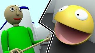 Pacman vs Baldi - Baldi basics