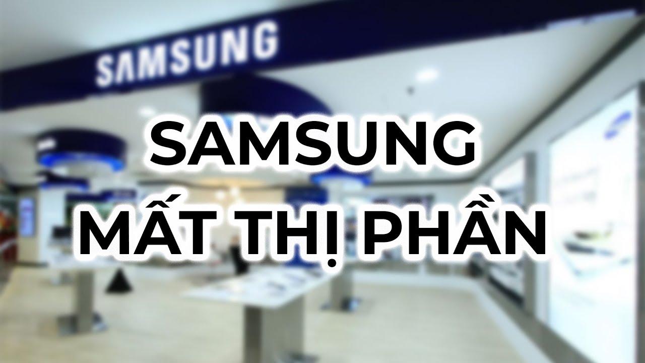 Samsung đang bị lung lay ngôi vương smartphone?