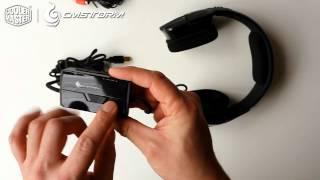 Cooler Master CM Storm - Sirus-C 2.2 Headset (für PC/PS4) - Unboxing/Info (german)