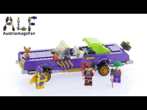Vidéo LEGO The Batman Movie 70906 : La décapotable du Joker