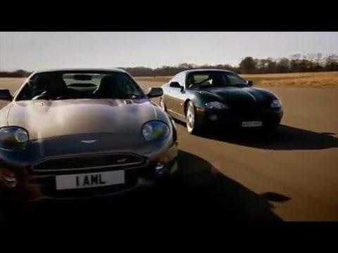 Jaguar XKRR v Aston Martin DB7 – BBC