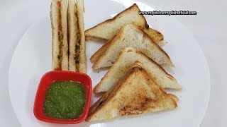 Eid ul Adha Special Bombay Masala Toast Sandwich Recipe | Mutton Sandwich For Breakfast