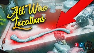 ALL WIRE LOCATIONS ON MOON REMASTERED! - CALL OF DUTY BLACK OPS 3 ZOMBIES CHRONICLES TUTORIAL GUIDE