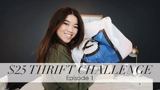 ByChloeWen $25 Thrift Challenge - Come Thrifting With Me // Episode 1