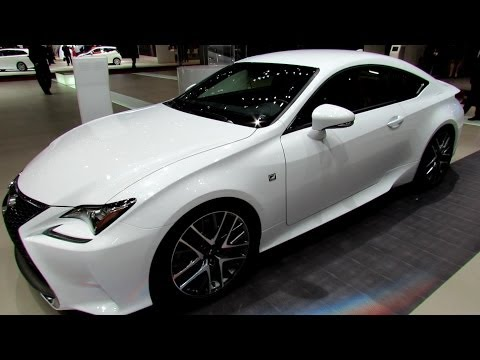 2015 Lexus RC350 F-Sport - Exterior and Interior Walkaround - 2014 Geneva Motor Show