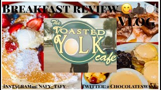 Breakfast And Brunch At The Toasted Yolk Cafe | VLOG 🍽🥞🍳