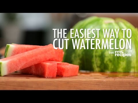 The Easiest Way to Cut a Watermelon