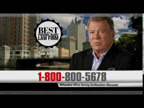 Hupy and Abraham, S.C. -  Rated Best Personal Injury Law Firm (Feat. William Shatner)