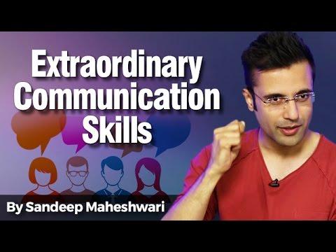 Extraordinary Communication Skills - By Sandeep Maheshwari I Personality Development in Hindi