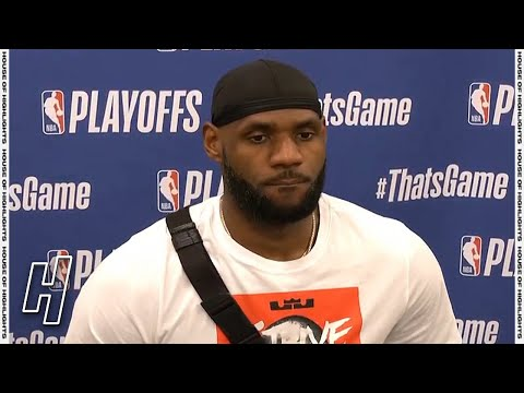 LeBron James Postgame Interview – Game 5 – Lakers vs Suns | 2021 NBA Playoffs