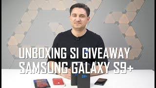 UNBOXING & REVIEW - Samsung Galaxy S9+ GIVEAWAY!!!