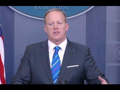 Feb 27, 2017 Sean Spicer White House Briefing -Full Event