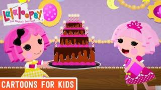 Lalaloopsy - Jewel Sparkles' Birthday Surprise | Lalaloopsy Webisode Compilation | Videos For Kids