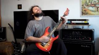 Dio - Straight Through The Heart guitar cover