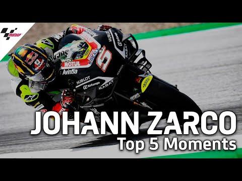 MotoGPライダー「ヨハン・ザルコ」の気になるシーントップ5から見るトップライダーの走りを集めたダイジェスト動画