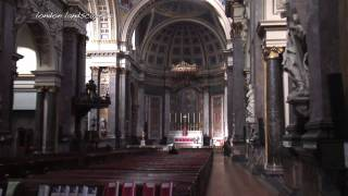 preview picture of video 'Brompton Square and Brompton Oratory (HD)'