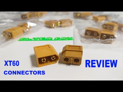 XT60 Male/Female Connectors REVIEW