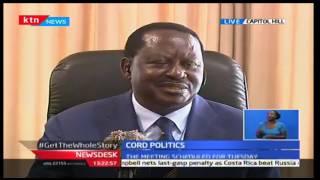 KTN News Desk: ODM leader Raila Odinga leaks a few details of their planned coalition, 10/10/16