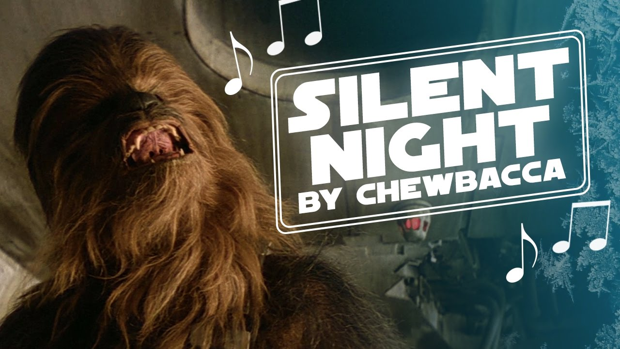 Chewbacca Singing 'Silent Night' Is The Only Christmas Carol You Need