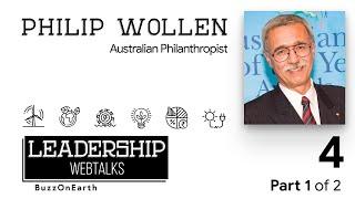 BuzzOnEarth Leadership WebTalks | Philip Wollen (Part 1)