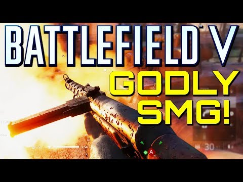 Battlefield 5: New ZK-383 is Godly! (Battlefield V Multiplayer Gameplay)
