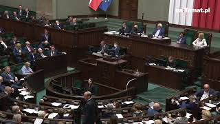 """""""Trzeba sprawdzać czy nasi są"""". Marszałek Sejmu Elżbieta Witek przyłapana"""