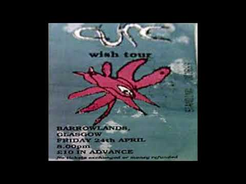 The Cure - Glasgow Barrowlands, 24th April 1992