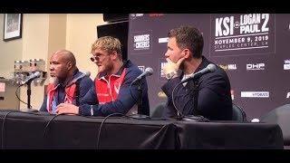 Logan Paul - FULL POST FIGHT PRESS CONFERENCE vs. KSI   DAZN Boxing