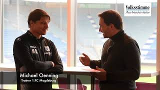 FCM-Coach Michael Oenning