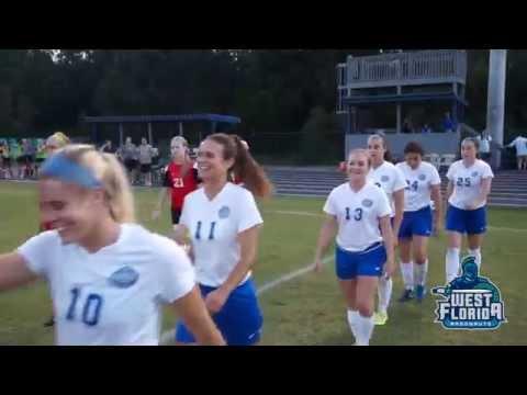 11/3 UWF Women's Soccer Highlights vs. CBU