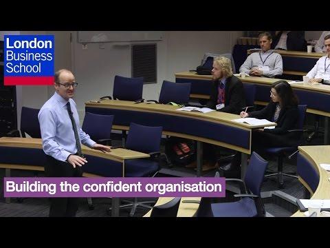 Building the confident organisation