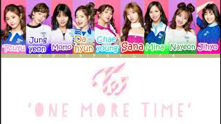 TWICE 'One More Time' Color Coded Lyrics
