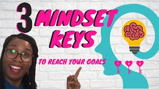 Youtube with Dee Woolridge 3 Mindset Keys To Reach Your Goals sharing on Transformative Specialist Coaching  With Women
