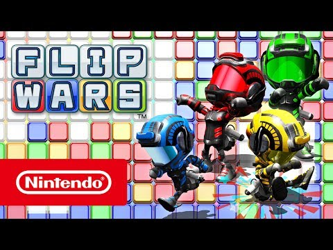 Flip Wars - Launch Trailer (Nintendo Switch) thumbnail