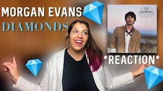 Morgan Evans  Diamonds *REACTION*